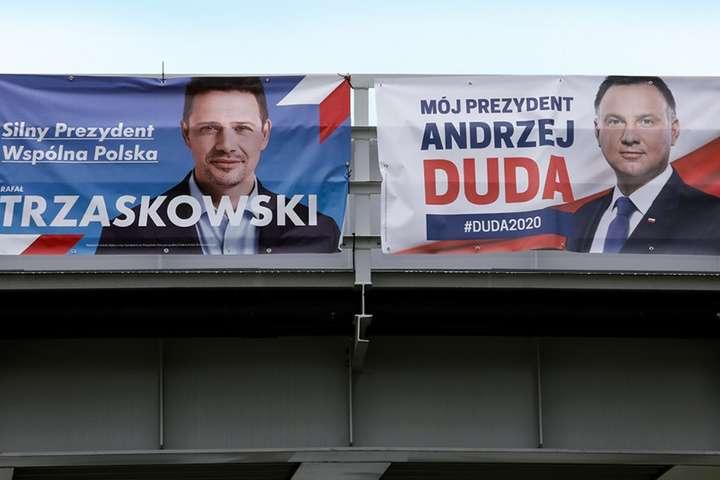 Президентські вибори у Польщі: у другий тур виходять Дуда та мер Варшави
