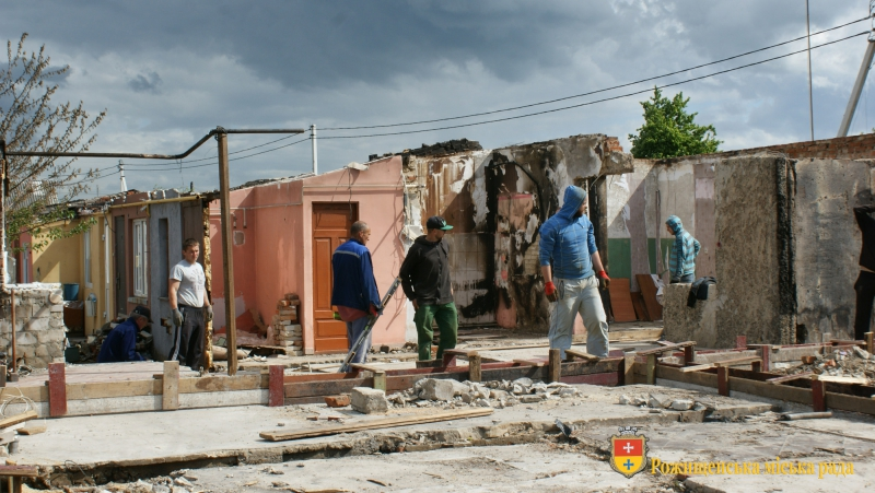 Мешканці знищеного пожежею будинку на Волині отримали 370 тисяч матеріальної допомоги
