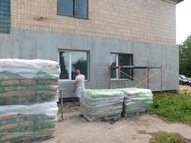 У Рожищі реконструюють частину приміщення військкомату під амбулаторію