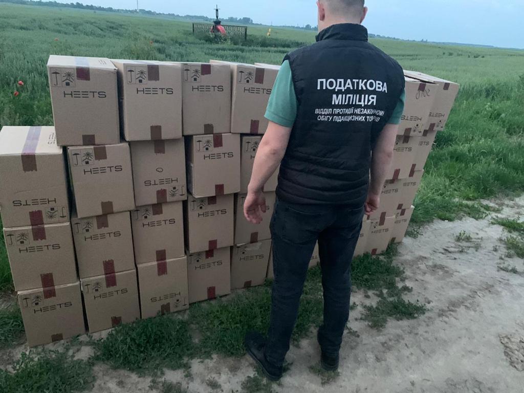 На Волині вилучили 48 тисяч пачок цигарок, які незаконно намагалися перевезти