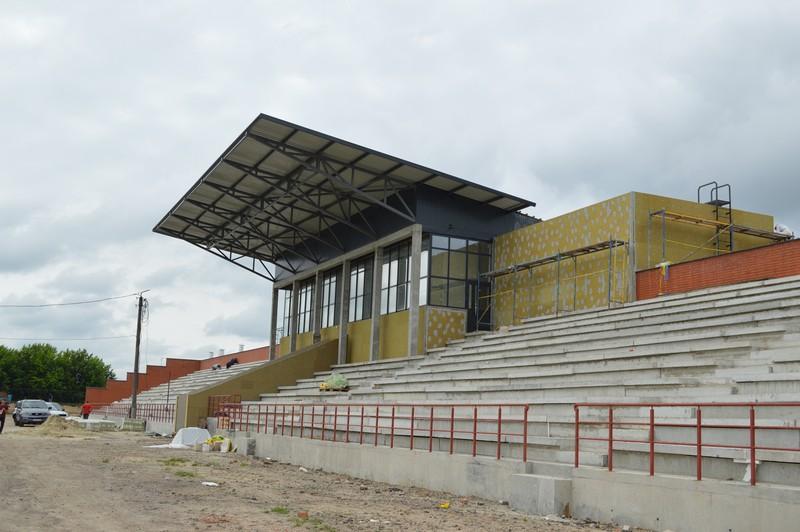 У Ковелі завершують перший етап реконструкції стадіону «Локомотив»