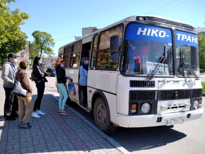 У місті на Волині відновили роботу громадського транспорту