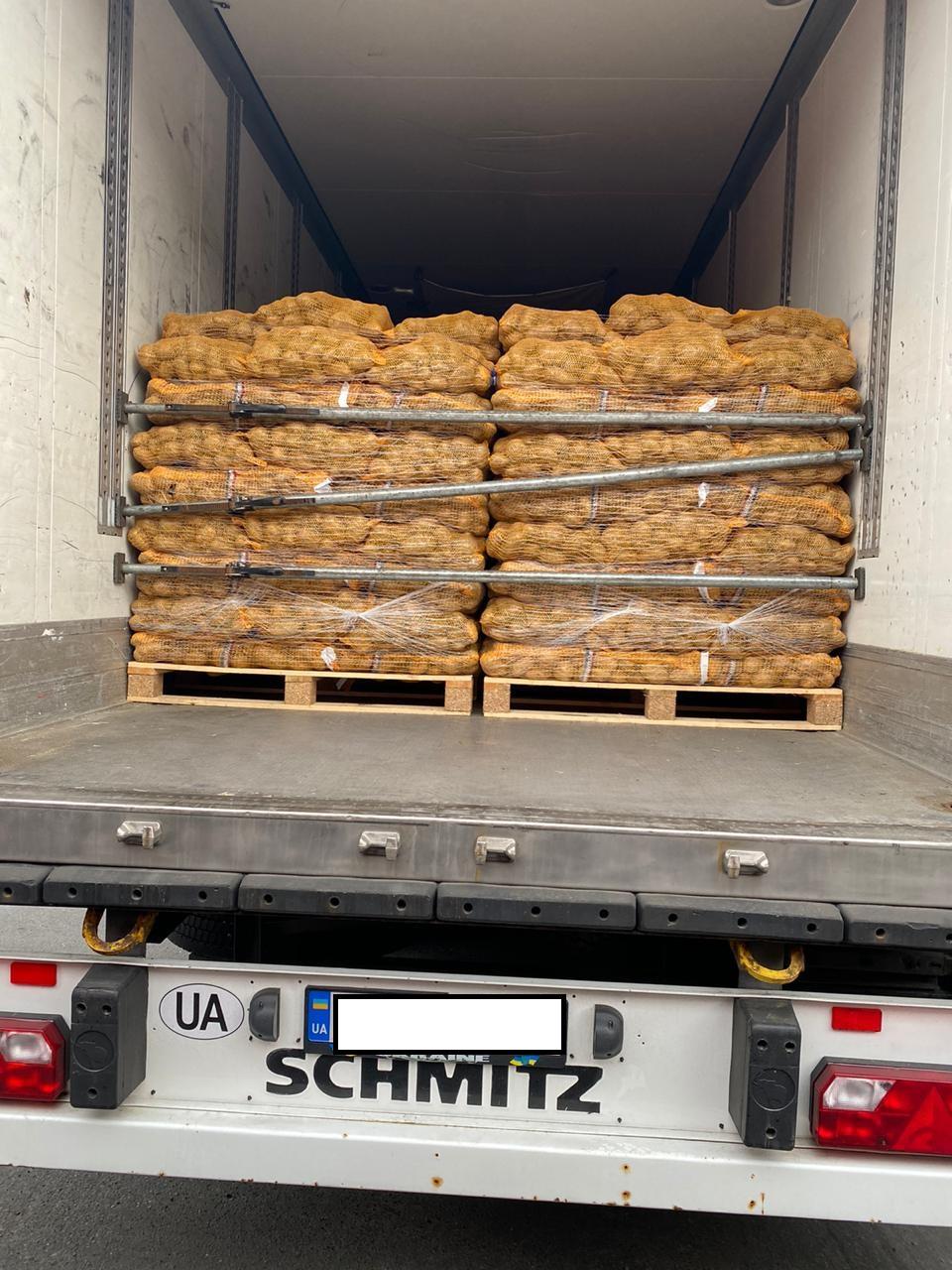 Через волинський кордон перевозили стоматологічні прилади під виглядом картоплі