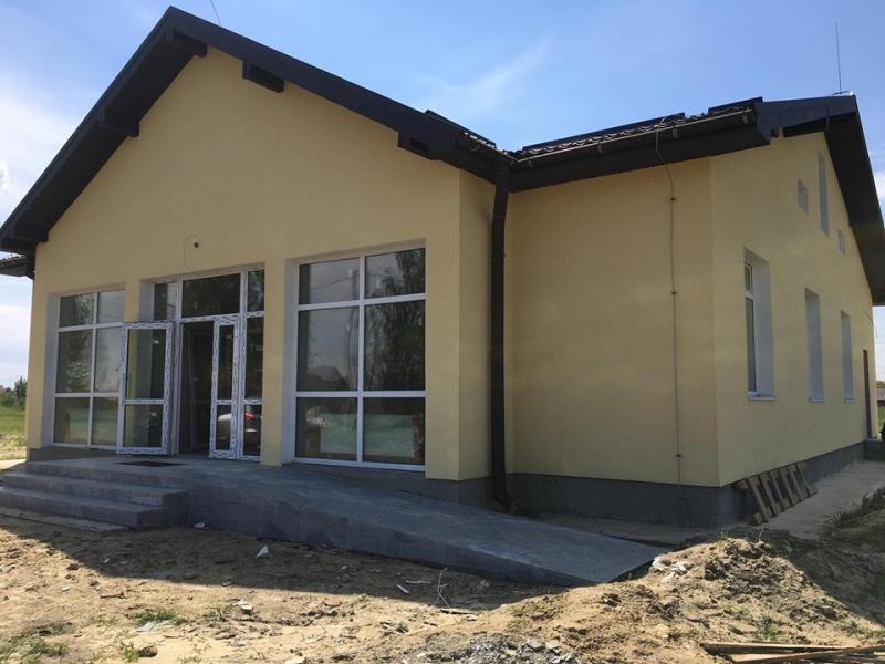 У громаді на Волині завершують будівництво амбулаторії