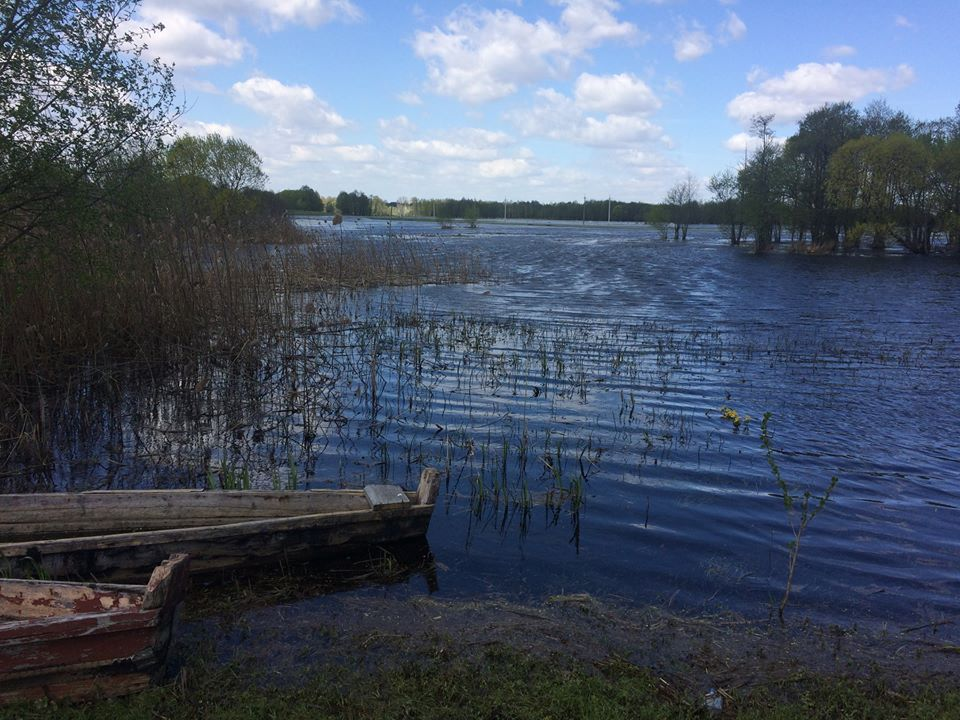 На Волині попереджають про можливе затоплення сільгоспугідь