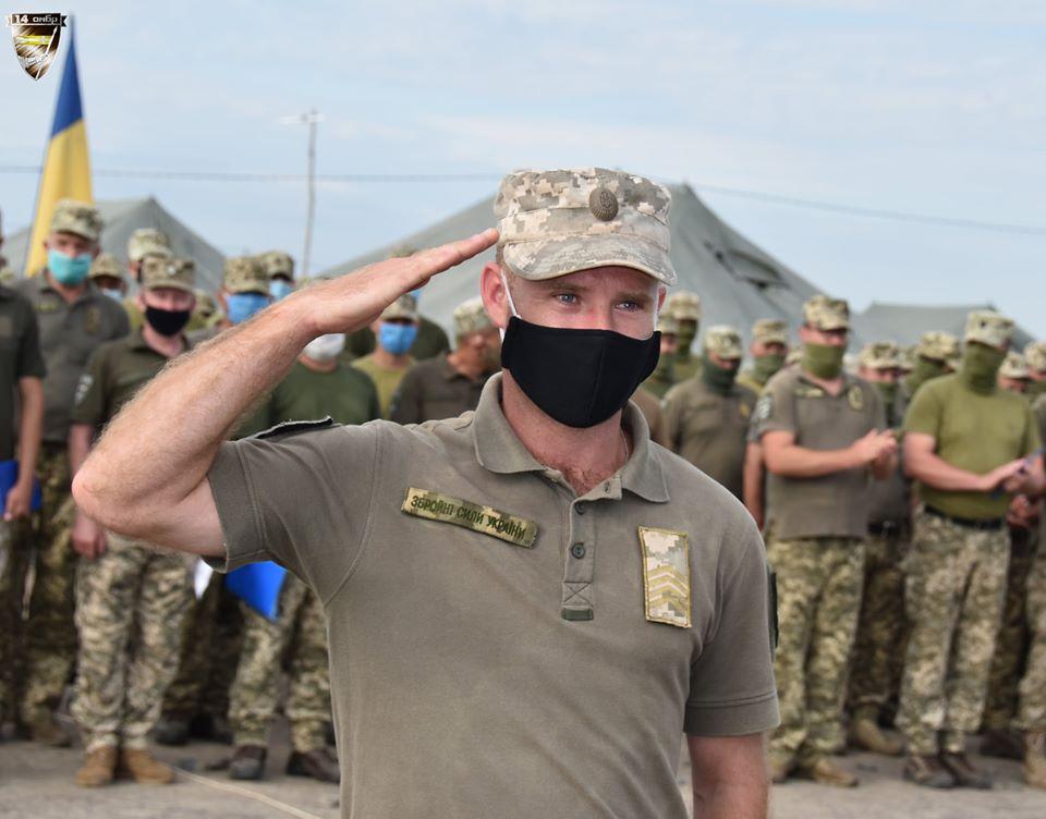 Військові 14-ї ОМБ отримали подяки