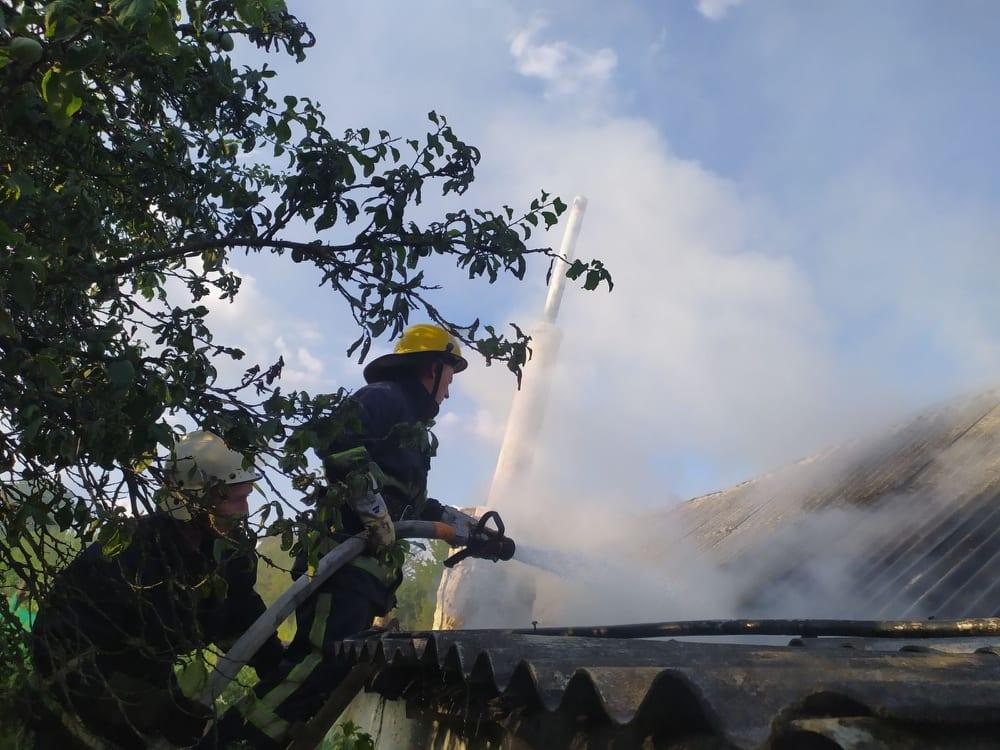 За добу на Волині ліквідували дві пожежі