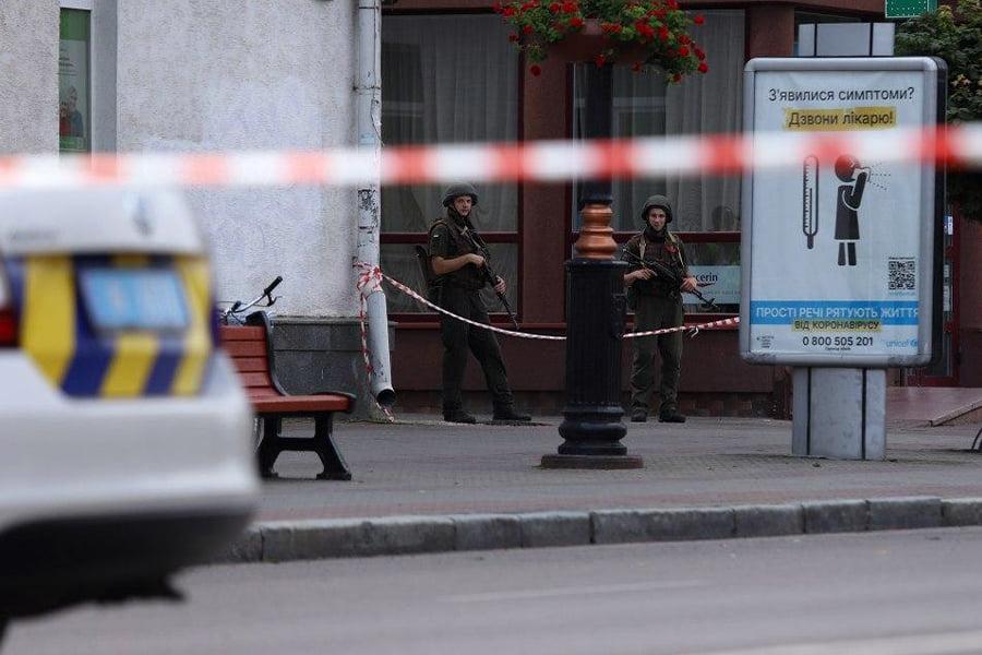 До операції зі звільнення заручників у Луцьку залучили близько сотні нацгвардійців