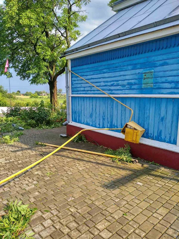 Негода на Волині пошкодила газопроводи