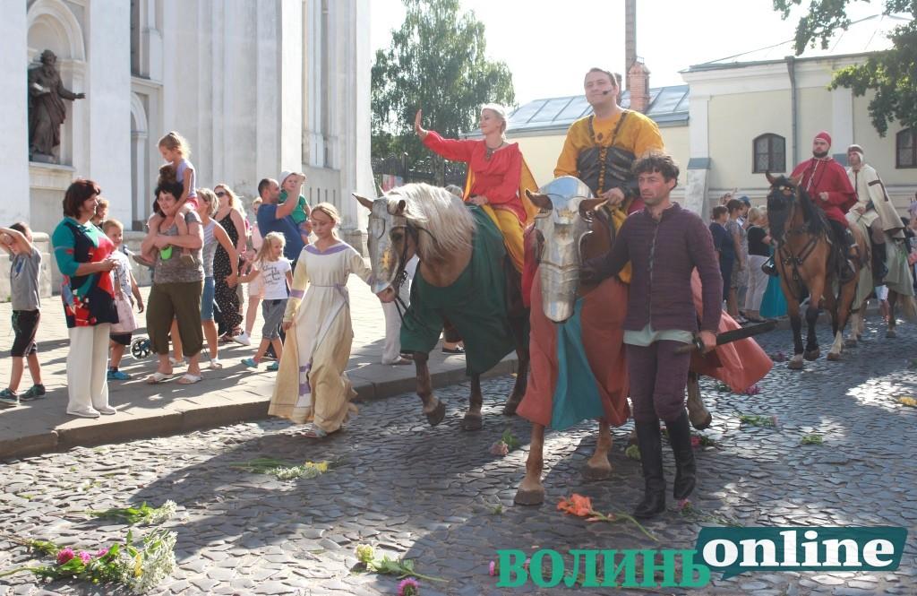 Через карантин фестиваль «Князівський бенкет» у Луцьку переносять на наступний рік