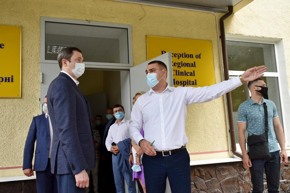 Міністр перевіряв підготовку Волині до реалізації проекту «Emergency»