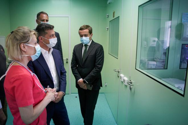 Зеленський відвідав Волинський обласний перинатальний центр