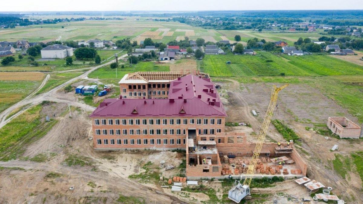 Школу на майже 400 місць на Волині планують добудувати у 2021 році