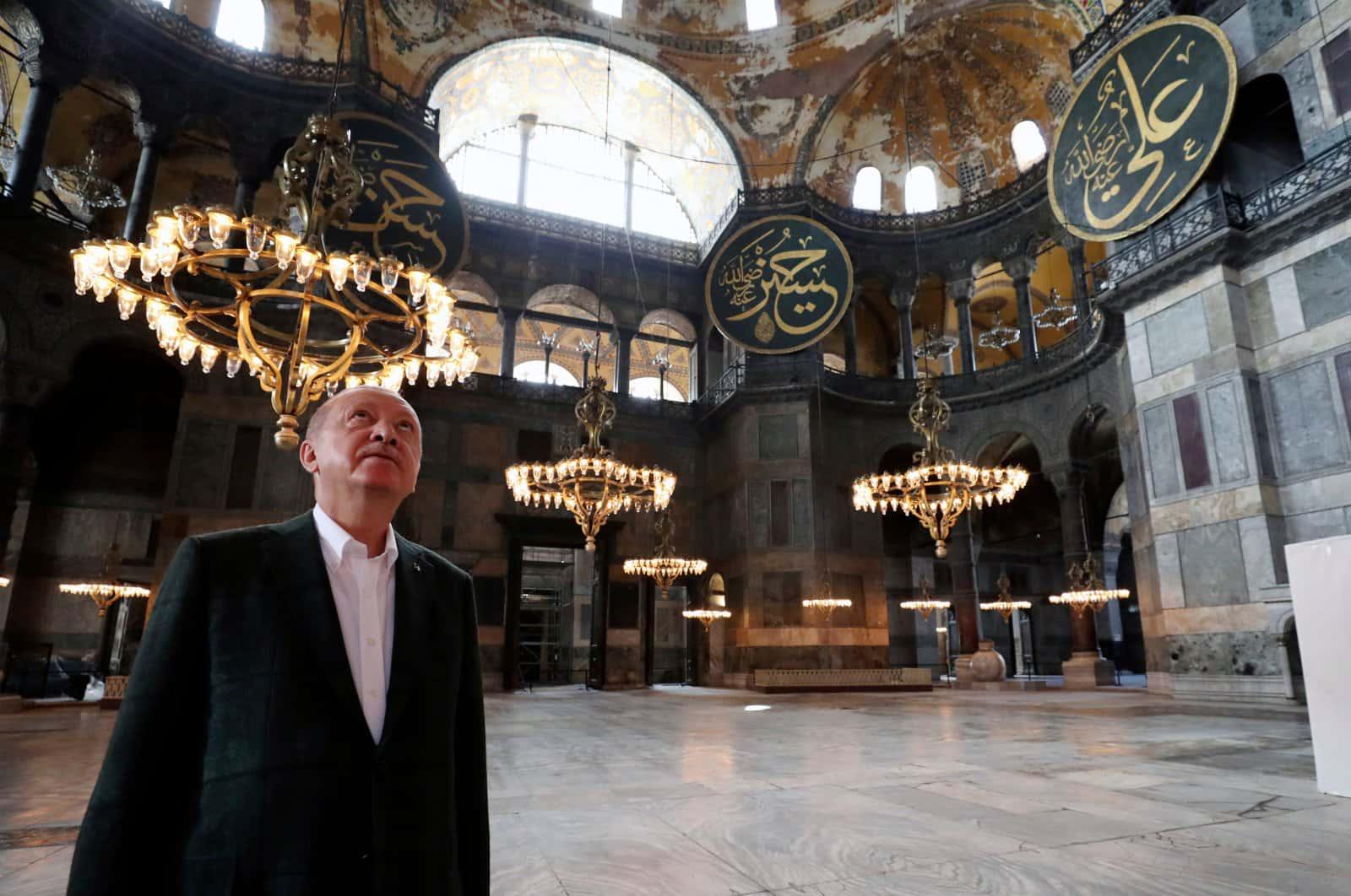 Ердоган запросив іноземних лідерів на першу молитву у перетворену на мечеть Святу Софію