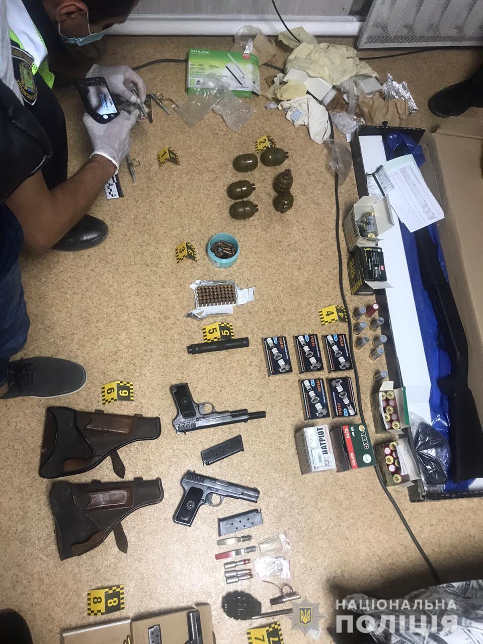 Можливого спільника луцького терориста затримали зі зброєю на Харківщині