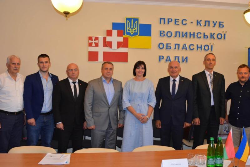 На Волині побував посол Білорусі в Україні