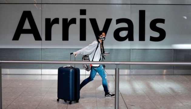 Британія змінила перелік країн, з яких можна в'їхати без самоізоляції