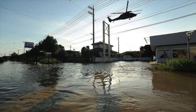 Збитки від повеней в Японії перевищили 110 мільйонів доларів