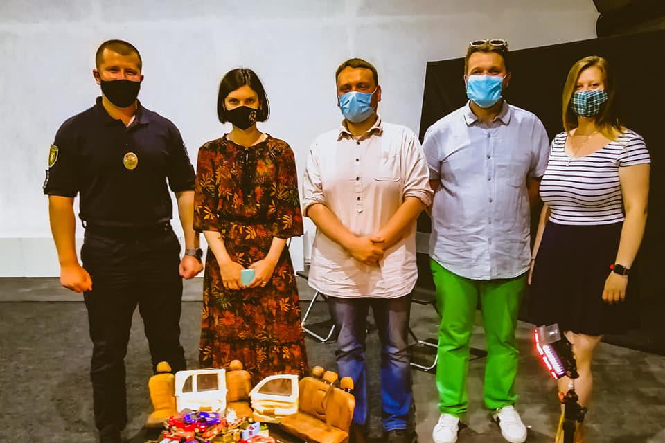 Чому нехтувати ременями безпеки не можна: у Луцьку створили відеоролик, який про це розповідає