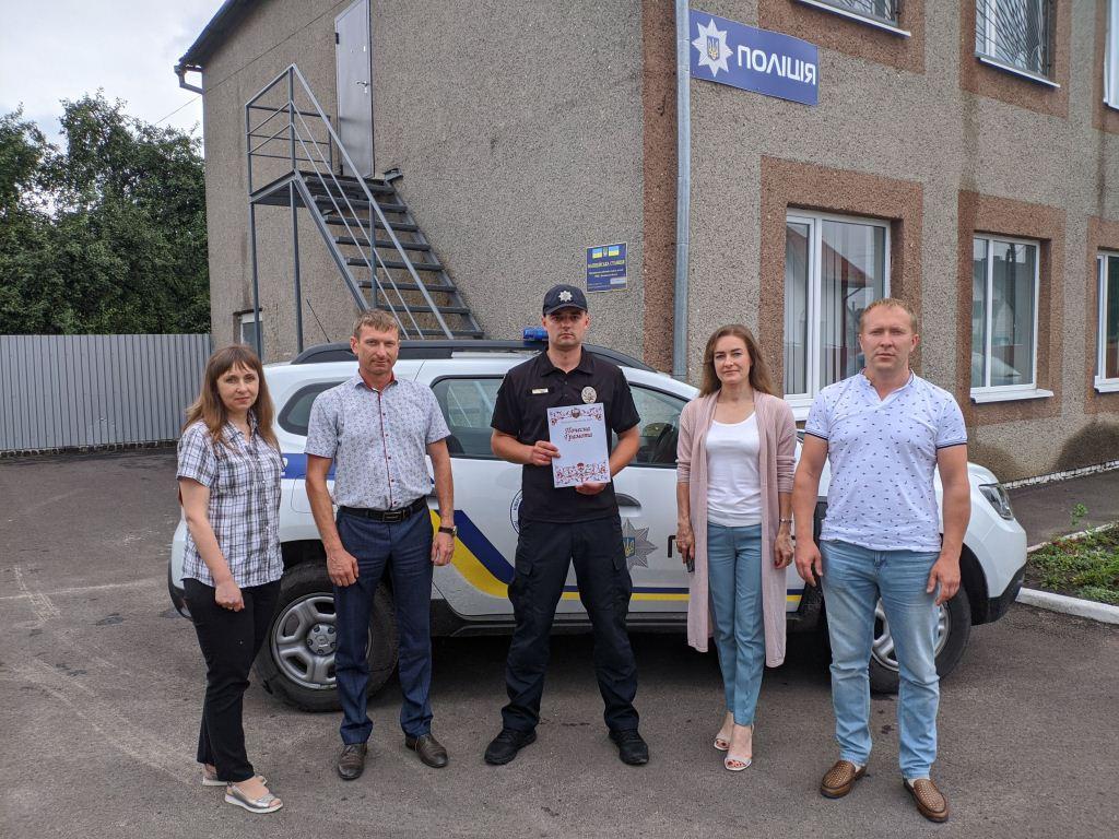 У Ківерцівській ОТГ працюватиме поліцейський офіцер громади