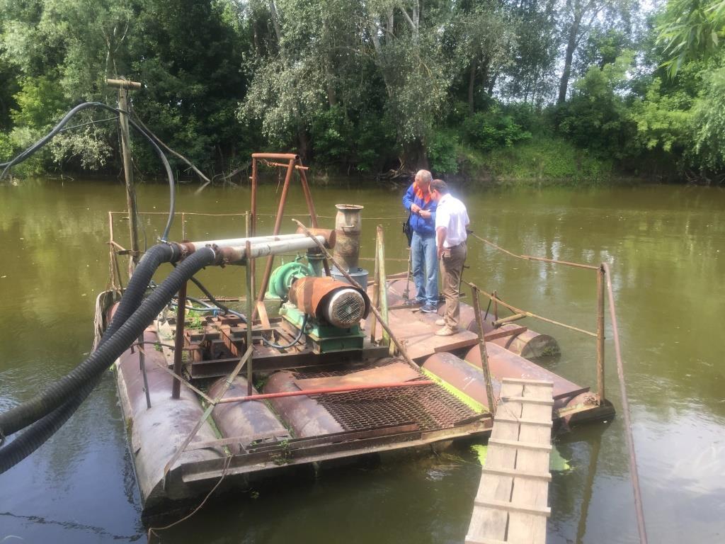 У Луцьку встановили рибозахисний пристрій