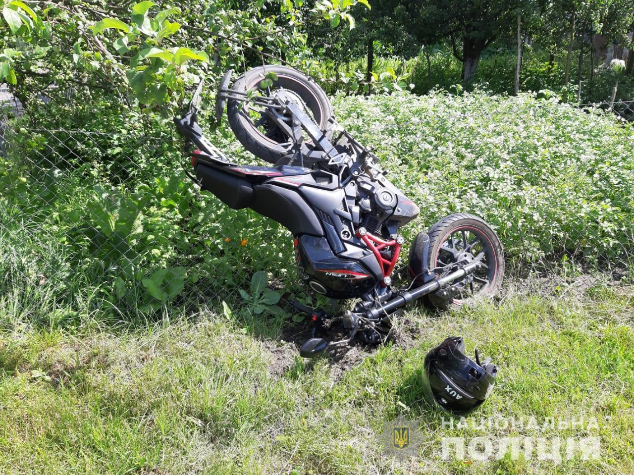 У ДТП на Волині постраждали двоє неповнолітніх