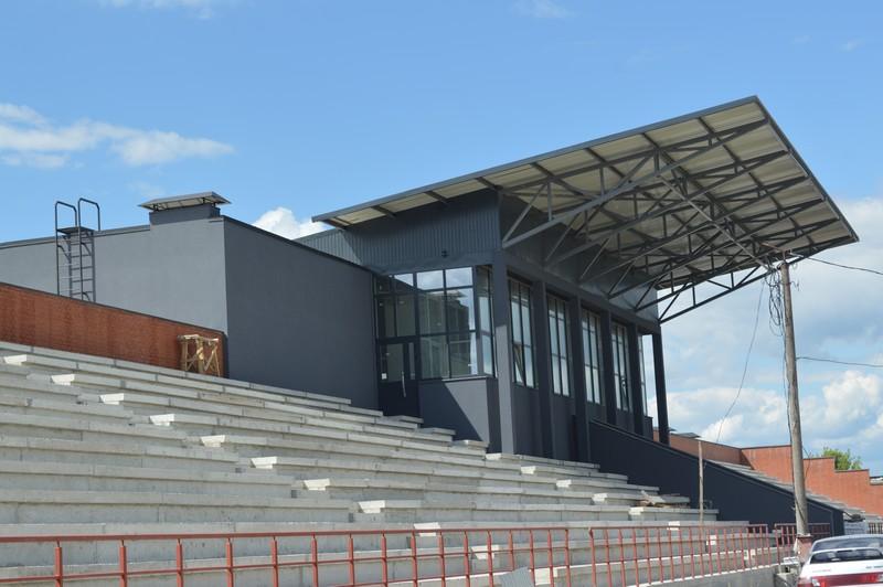 У Ковелі триває реконструкція стадіону під центр діалогу культур