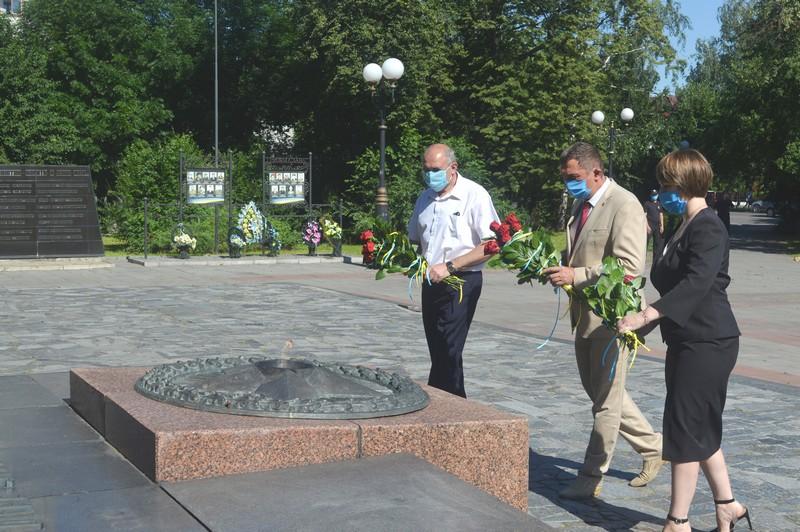 У Ковелі вшанували пам'ять визволителів міста від нацистів