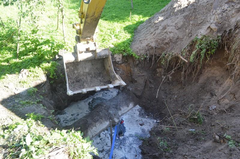 У місті на Волині будують мережі водовідведення