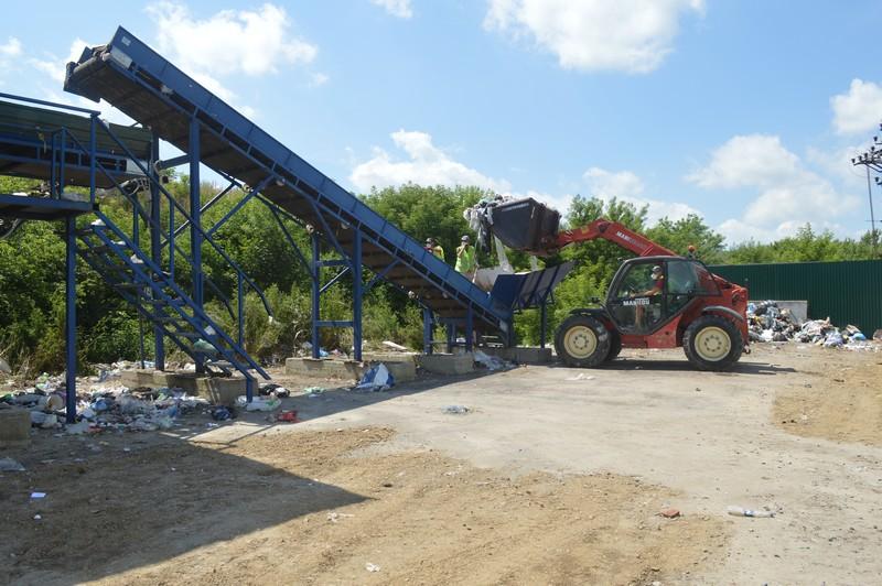 Як працює у Ковелі після реконструкції сміттєсортувальна лінія