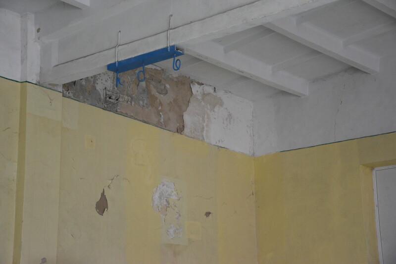 Школа у Луцьку потребує ремонту спортзалу
