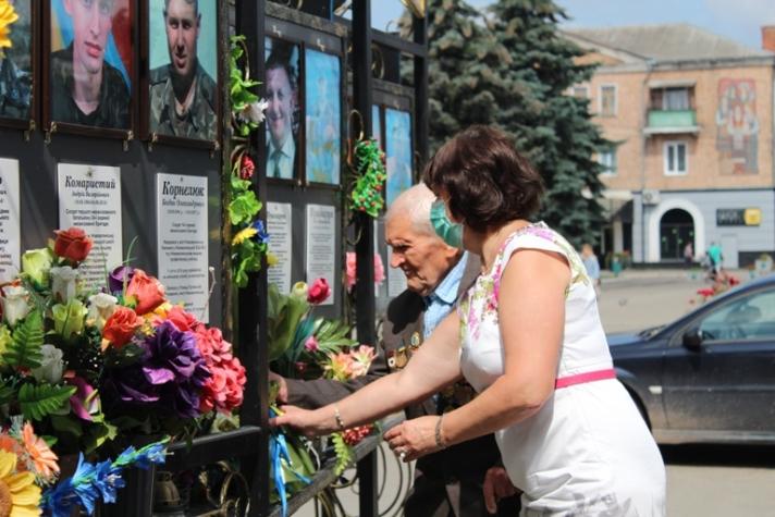 У місті на Волині вшанували пам'ять воїнів-визволителів
