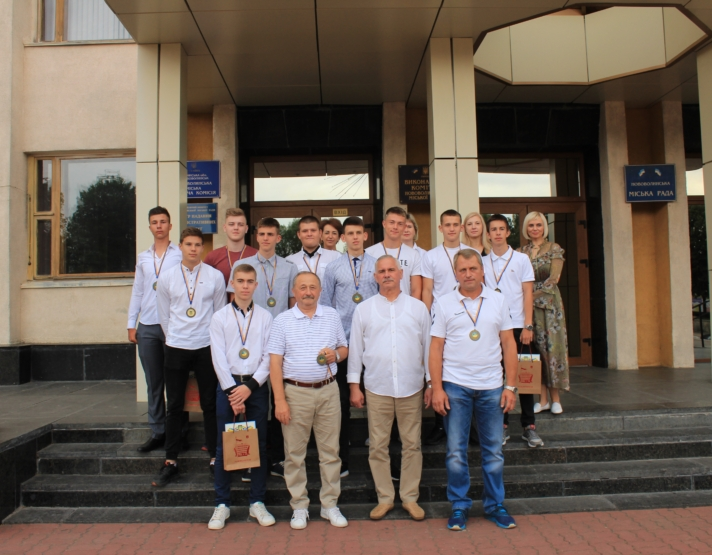 У Нововолинську привітали гандболістів, які здобули бронзу чемпіонату України