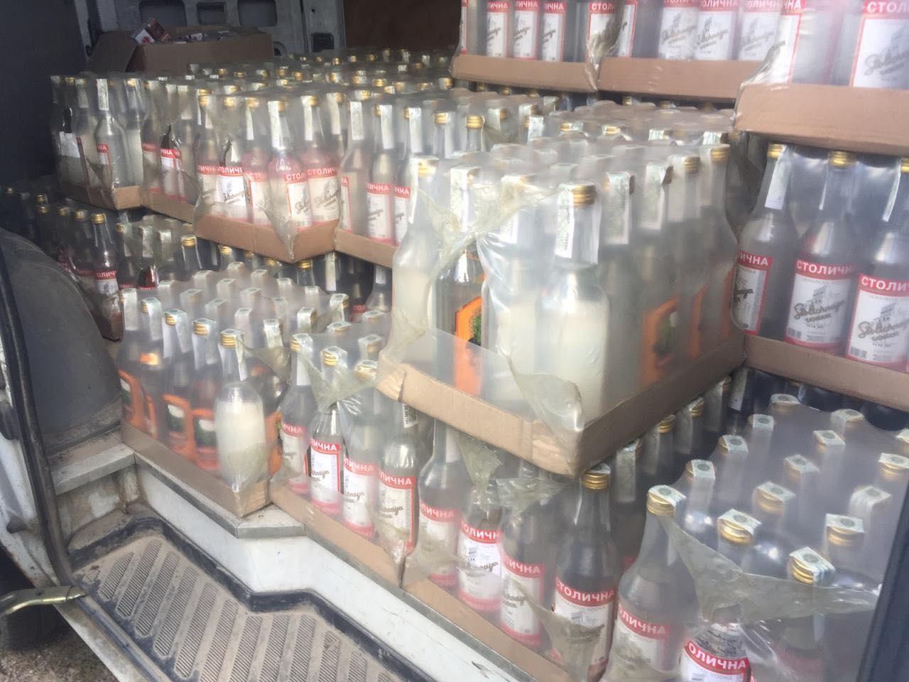 На Волині вилучили 600 літрів контрафактного алкоголю
