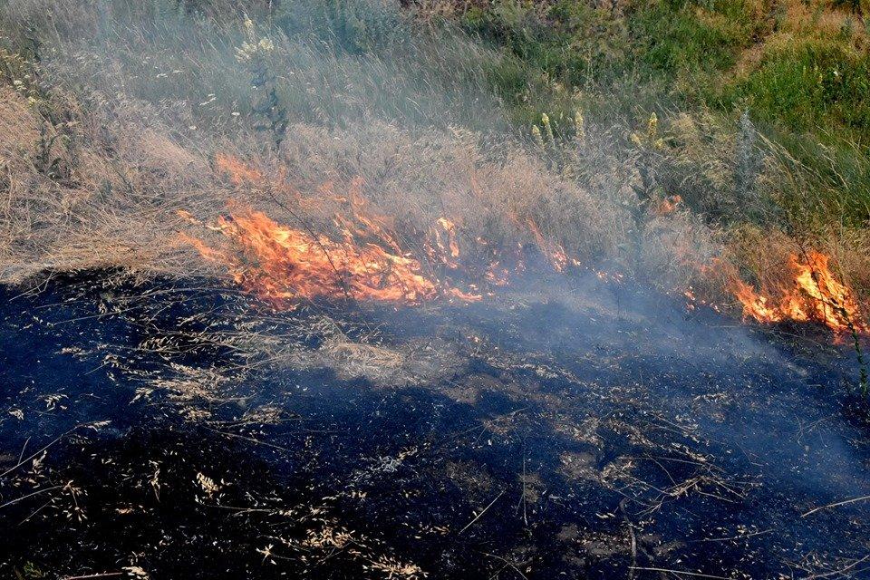 На Волині ліквідували дві пожежі