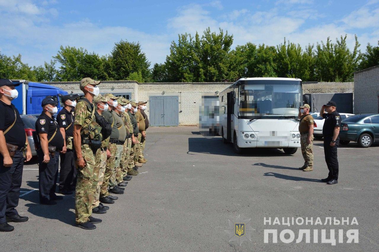 Бійці спецпідрозділу «Світязь» вирушили в зону проведення ООС