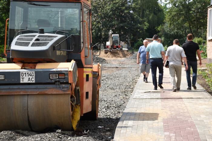 У Луцьку проінспектували ремонт дворів та вулиць міста