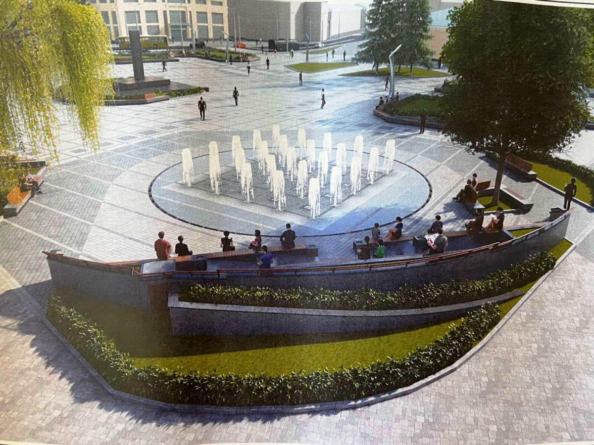 Лучани зможуть замовити платну послугу запуску фонтанів у будь-який час