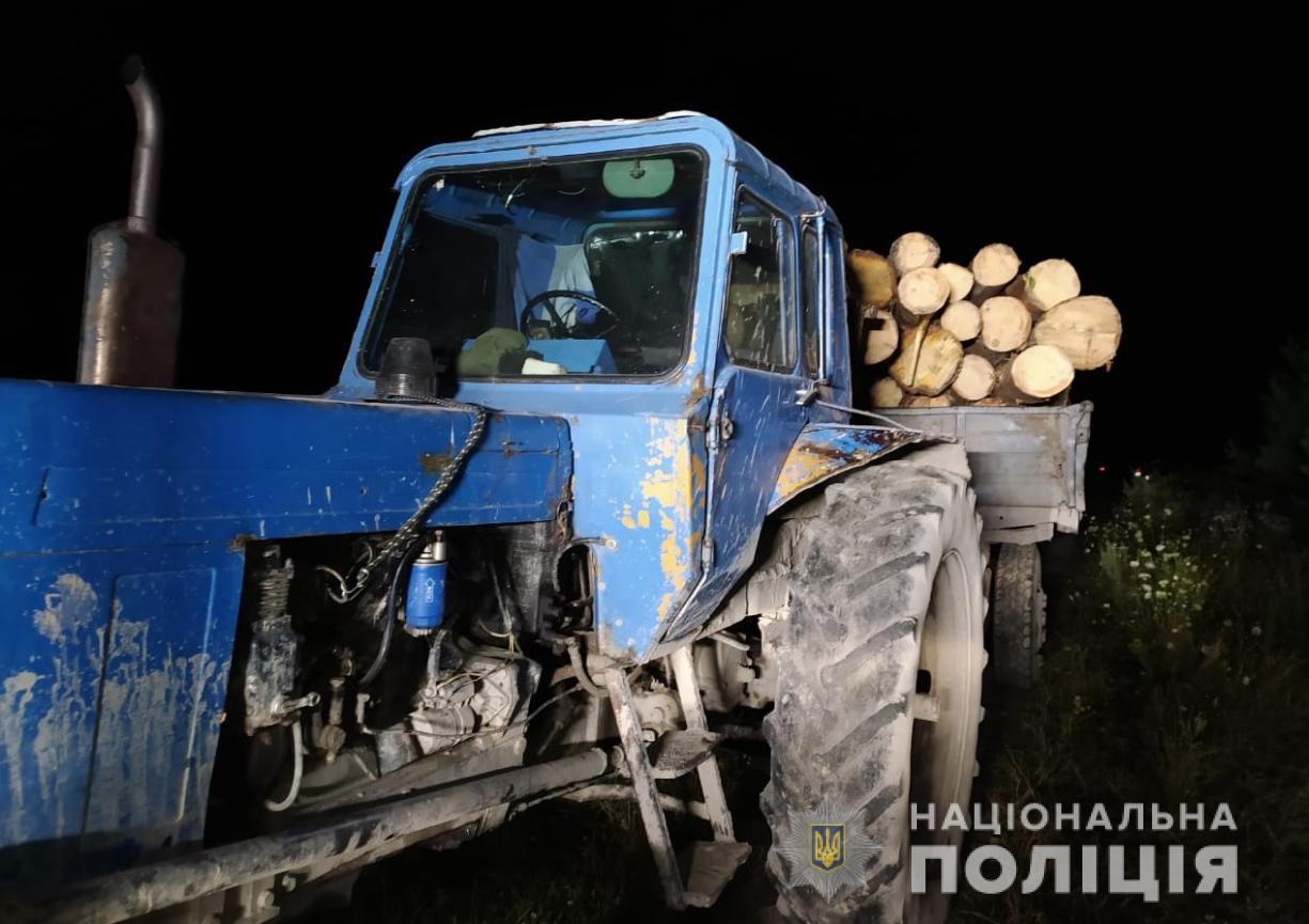 Співробітники поліції викрили 24-річного волинянина у крадіжці лісу