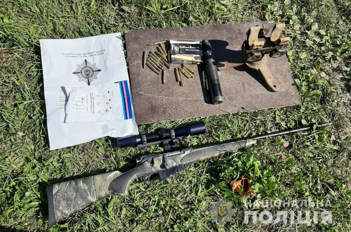У волинянина вилучили гвинтівку та набої