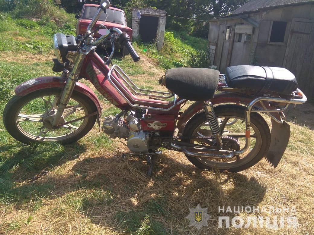 На Волині затримали викрадача мотоцикла