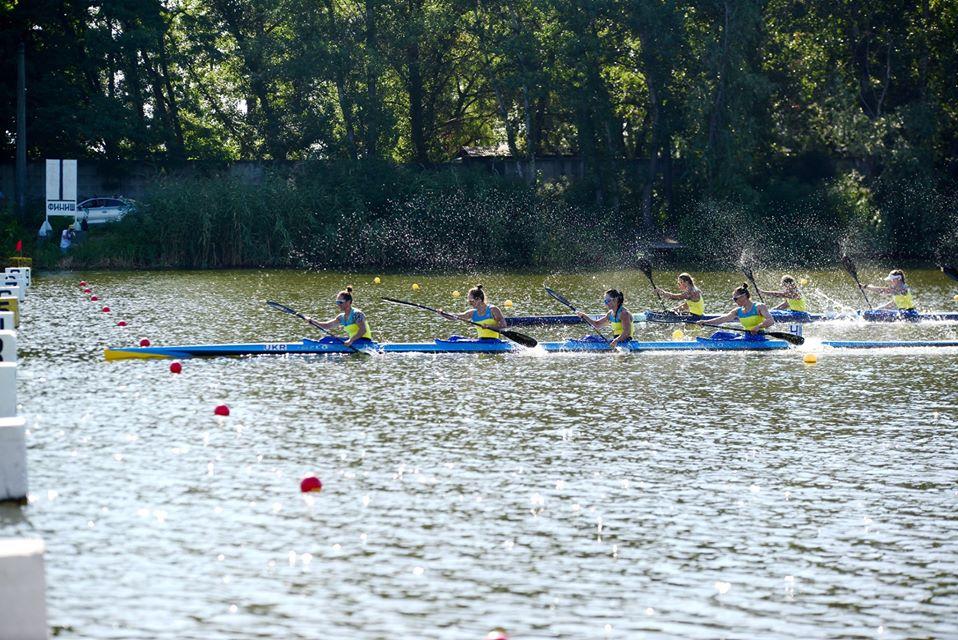 Волинські спортсмени здобули перемоги під час другого дня чемпіонату України з веслування на байдарках і каное