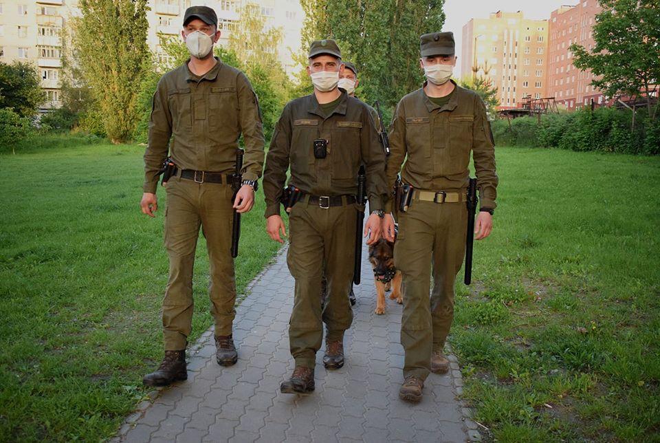 Нацгвардійці підбили підсумки року патрулювання вулиць Луцька