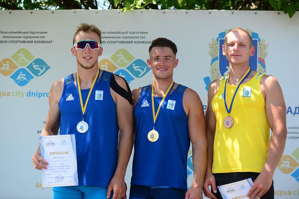 Волиняни здобули п'ять золотих на чемпіонаті України з веслування