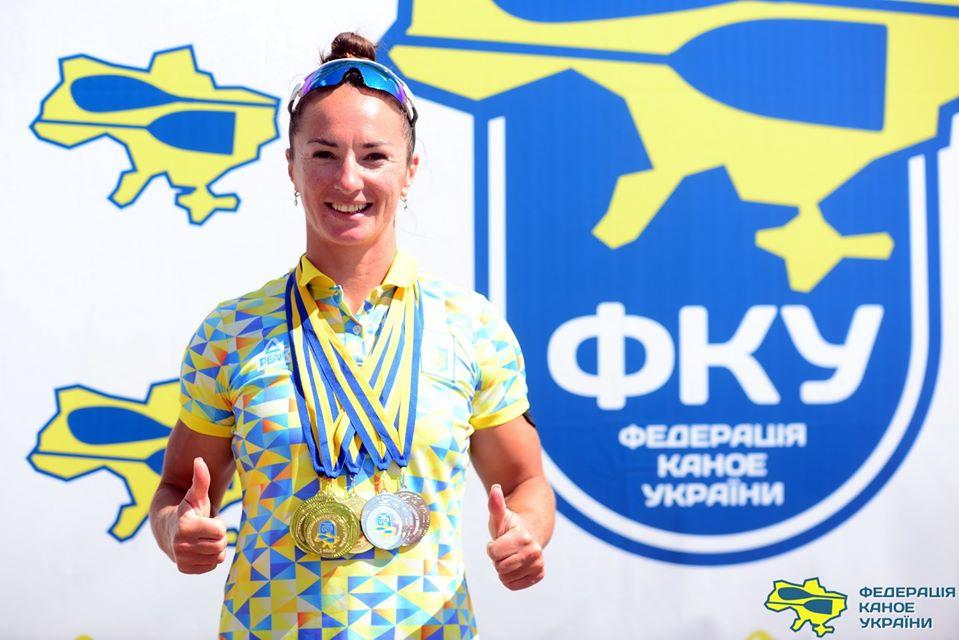 Лучанка здобула низку медалей у чемпіонаті України з веслування