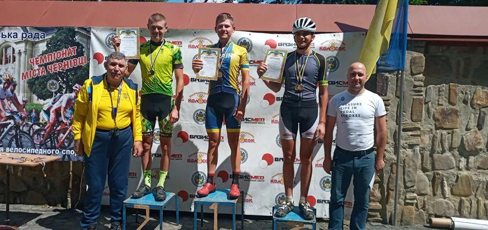 Команда Волині успішно виступила у чемпіонатах України з велосипедного спорту маунтенбайк