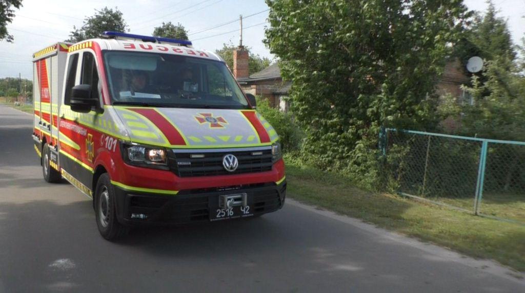 Волинян через гучномовець закликають дотримуватися правил пожежної безпеки під час жнив