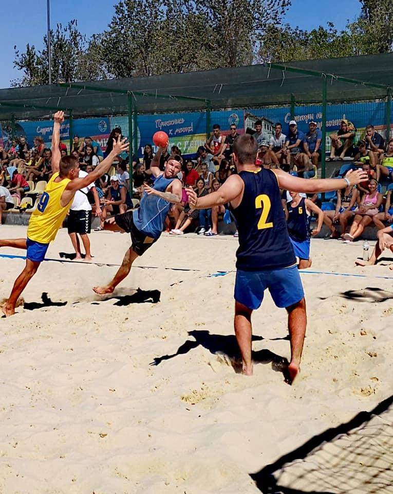 Волиняни вибороли бронзу у чемпіонаті України з пляжного гандболу