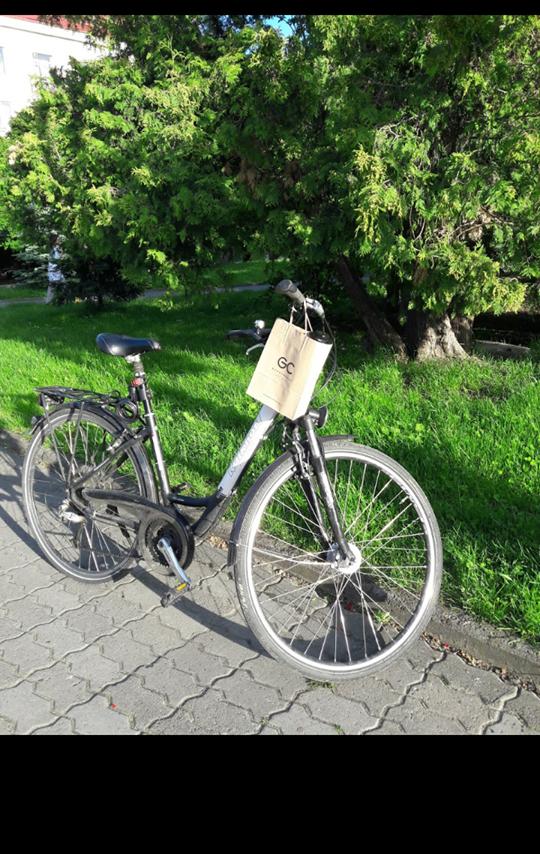 У відомого лучанина викрали велосипед: він просить повернути за винагороду