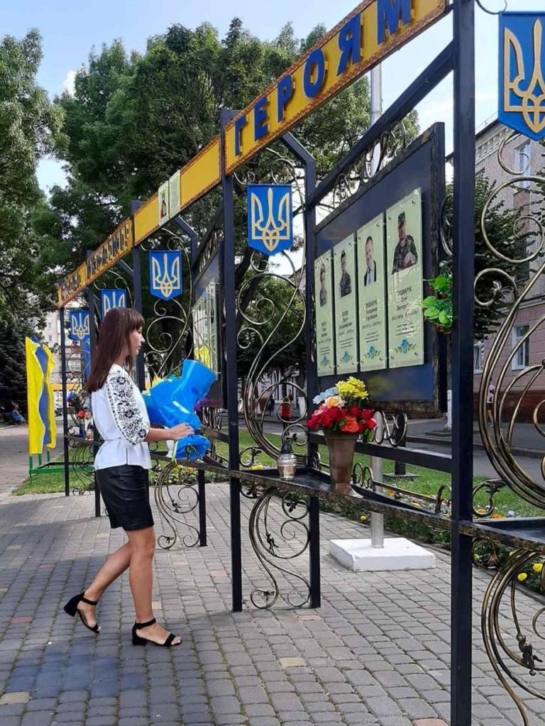 Як у Нововолинську відзначили річницю Незалежності України